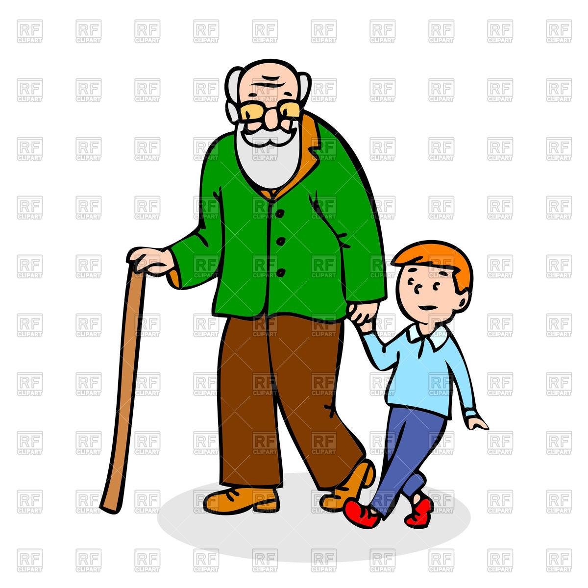 Free download best . Grandfather clipart grandfather grandchild