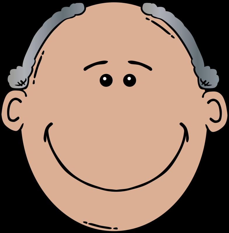 grandfather huge freebie. Grandma clipart head