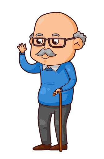 Panda free images grandfatherclipart. Grandfather clipart