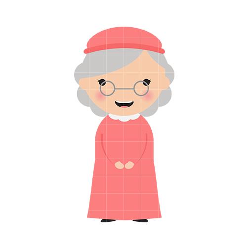 Grandmother clipart grandma word. Free cliparts download clip