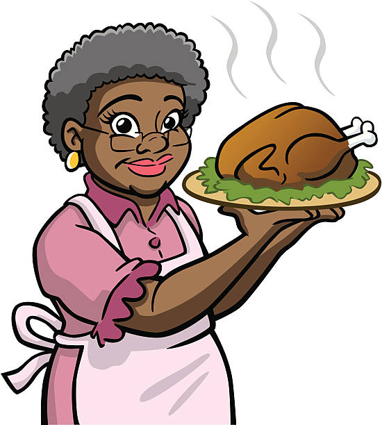 African american grandma clipart 1 » Clipart Station