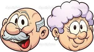 Grandparents clipart cartoon. Image result for black