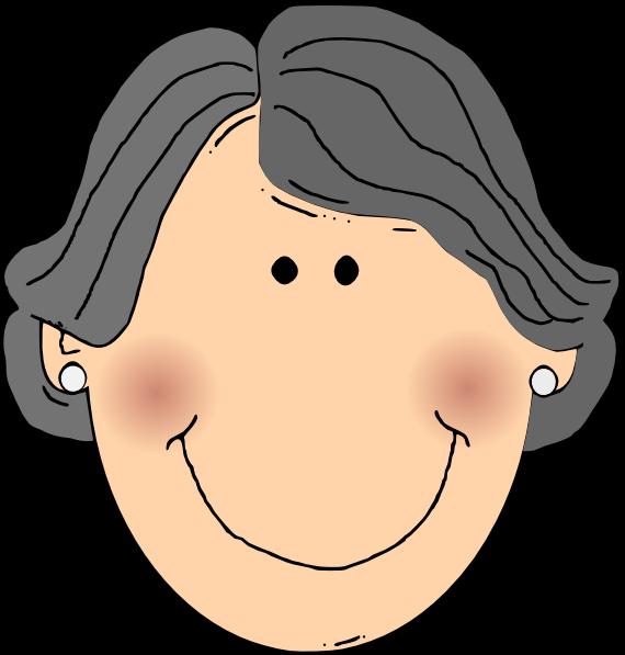 All testimonials emily org. Grandma clipart head