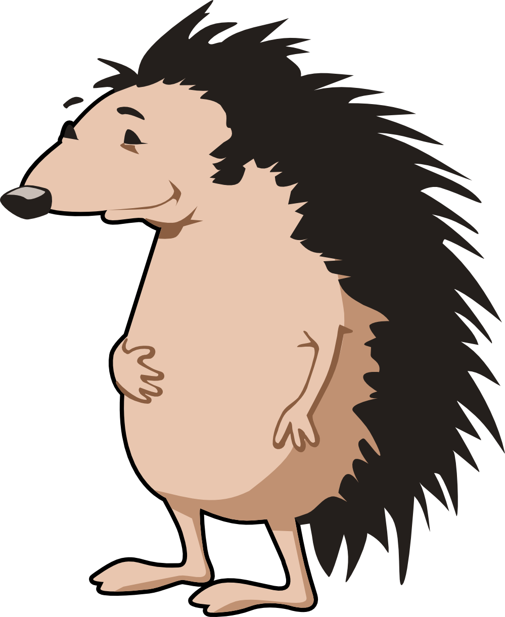 Woodland clipart porcupine. Grandma and baby super