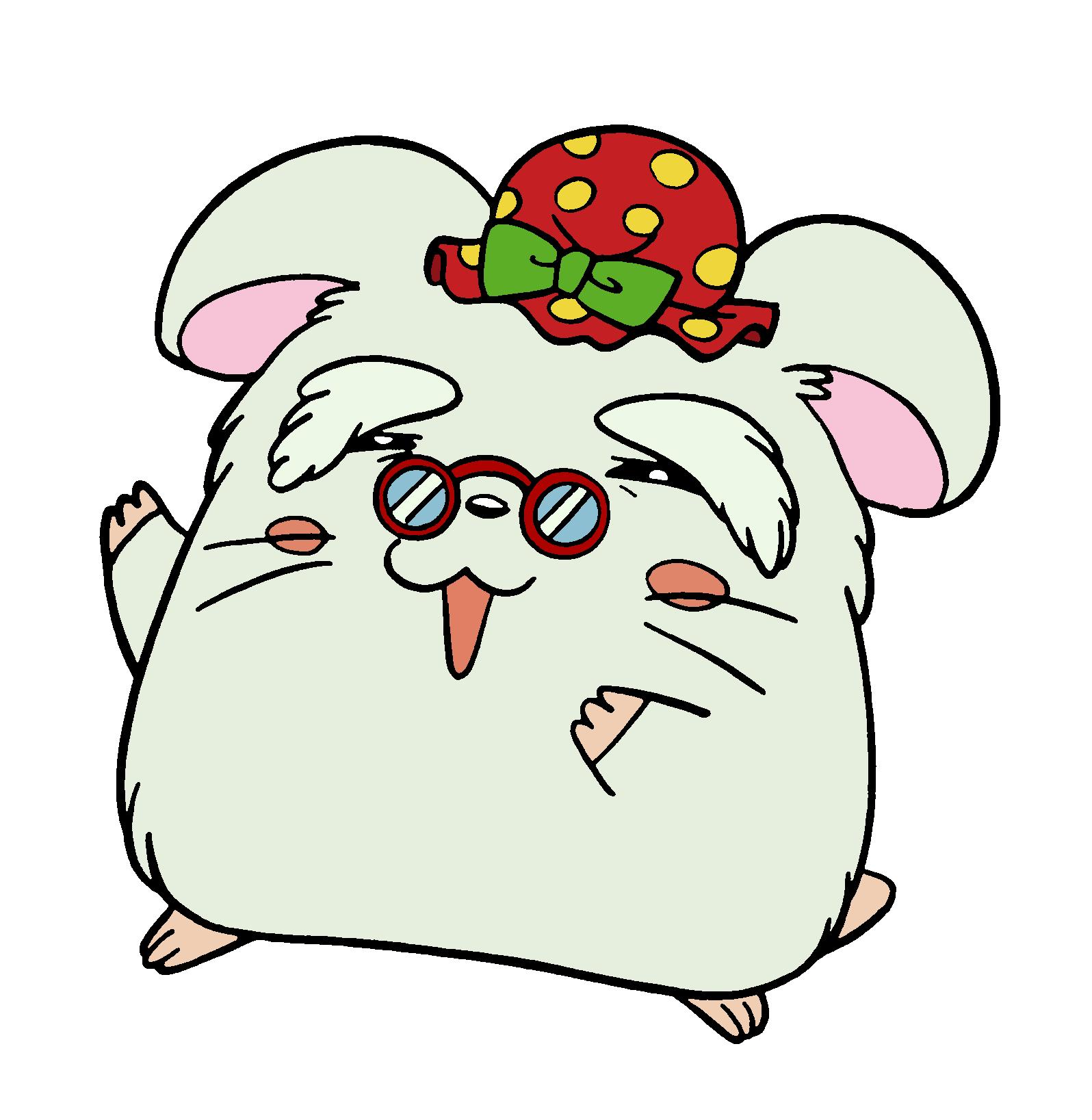 Auntie viv the hamtaro. Hamster clipart dead