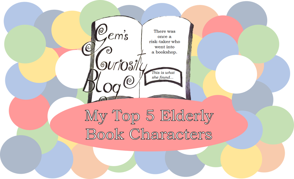 My top book characters. Grandmother clipart elderly reading