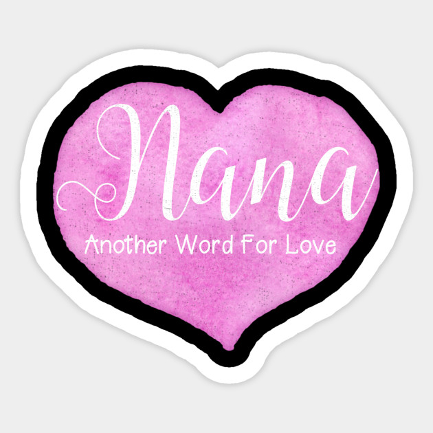 Grandmother clipart grandma word. Gifts nana another for