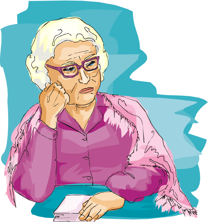 Lady clipart older. Why do some people