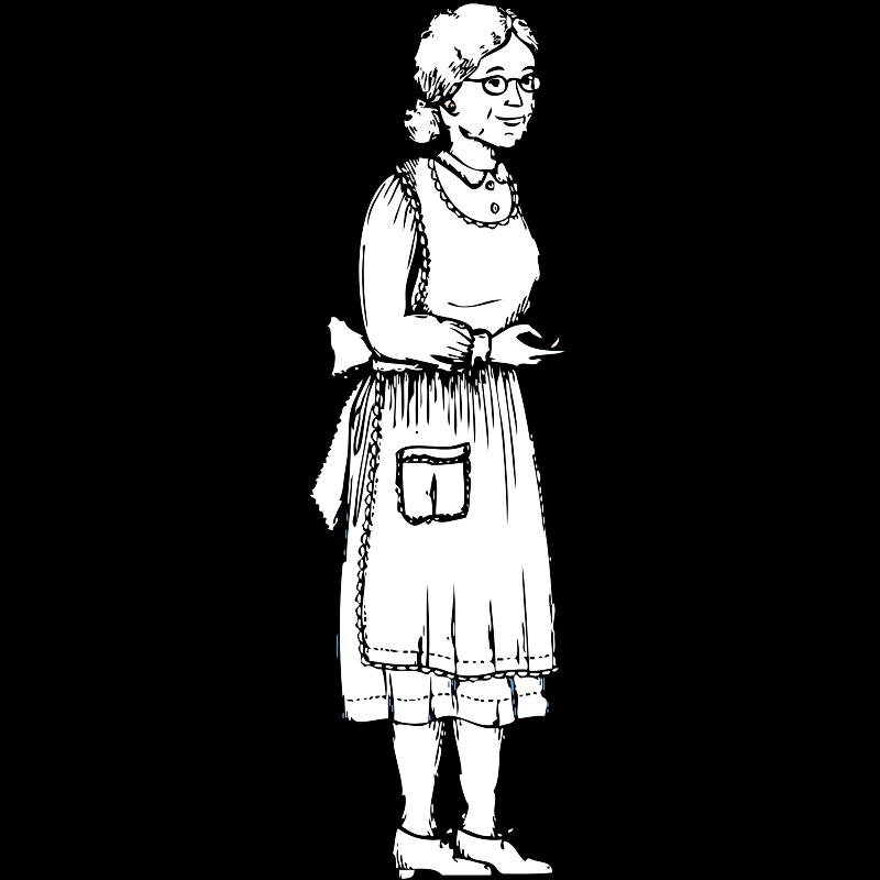 Grandmother poor