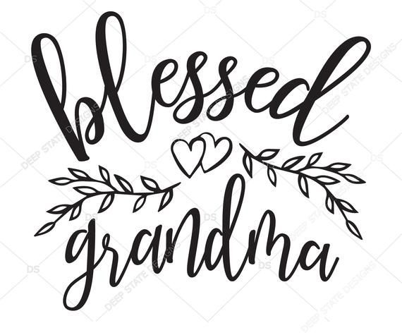 Free For my grandma, happy mother's day. Grandmother Clipart Svg Grandmother Svg Transparent Free For Download On Webstockreview 2021 SVG, PNG, EPS, DXF File
