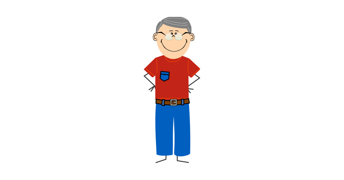 Limited edition exclusive with. Grandpa clipart jeans shirt