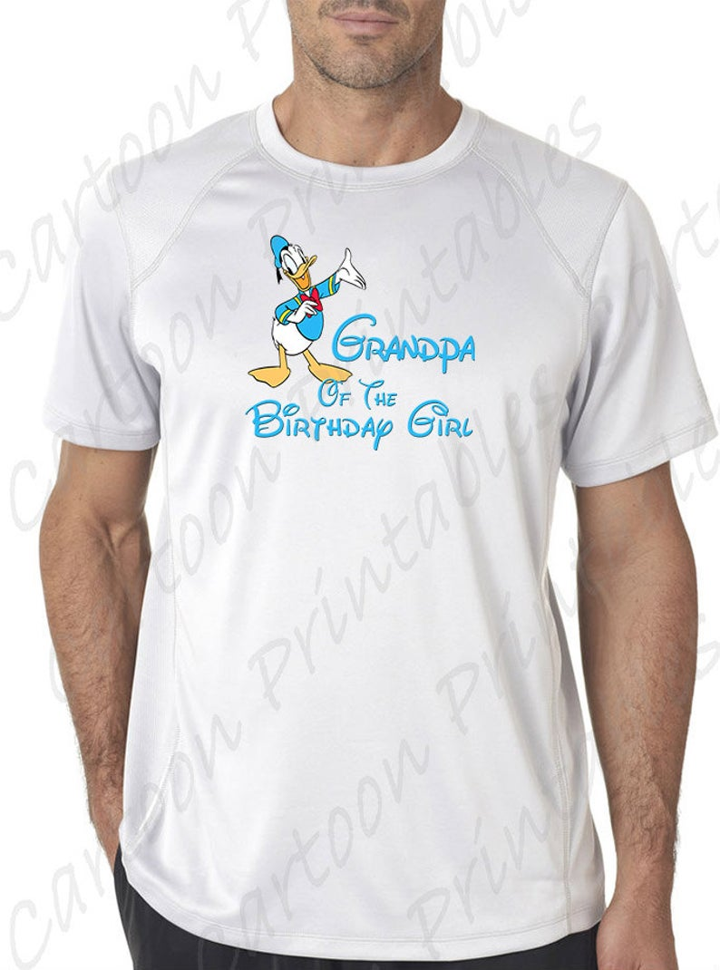 Donald duck of the. Grandpa clipart jeans shirt