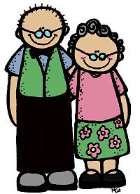 Celebrate grandparents day september. Grandparent clipart
