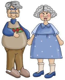Grandparent clipart beloved. Happy grandparents day to