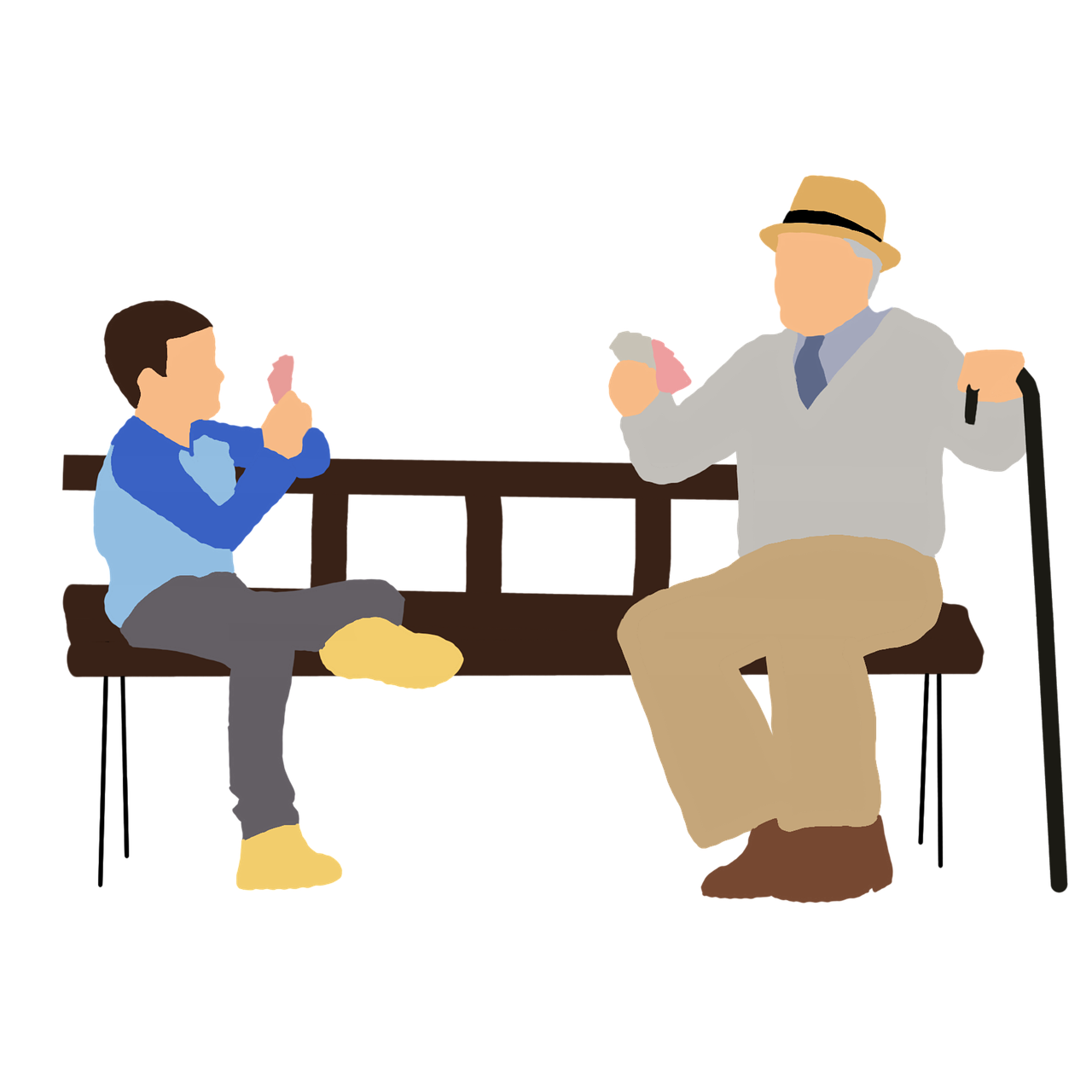 Free image on pixabay. Grandparent clipart called