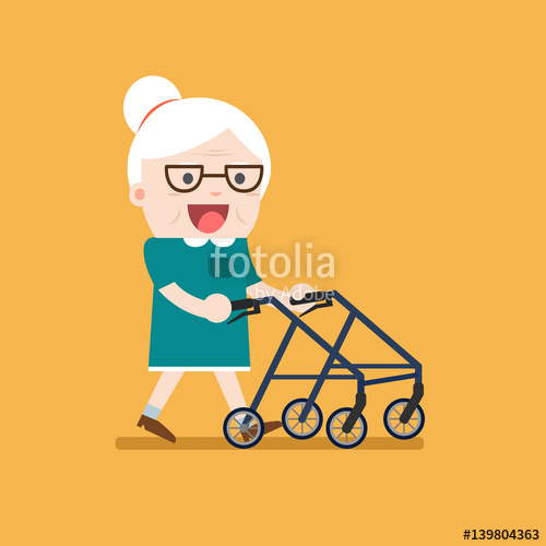 Elderly senior age in. Grandparent clipart retired couple