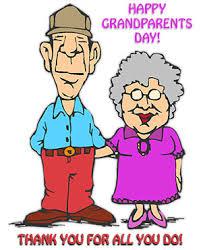 Grandparent clipart thanks. Happy grandparents day thank
