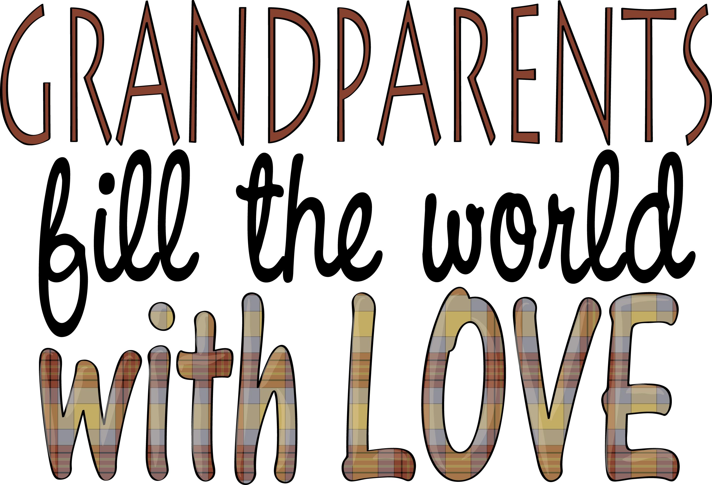 Free pics of grandparents. Grandparent clipart thanks