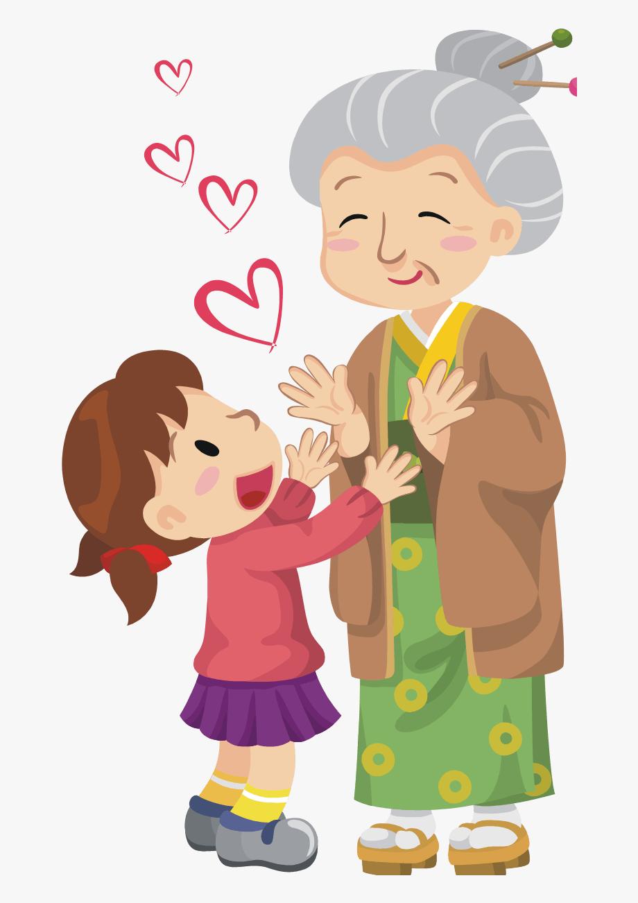 Grandparent clipart visited. Collection of visit nursing