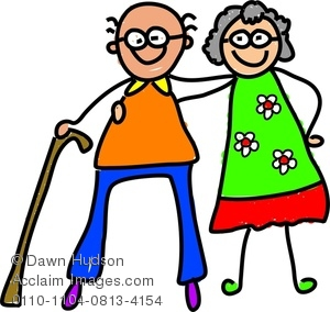 Grandparents images and stock. Grandparent clipart retired couple