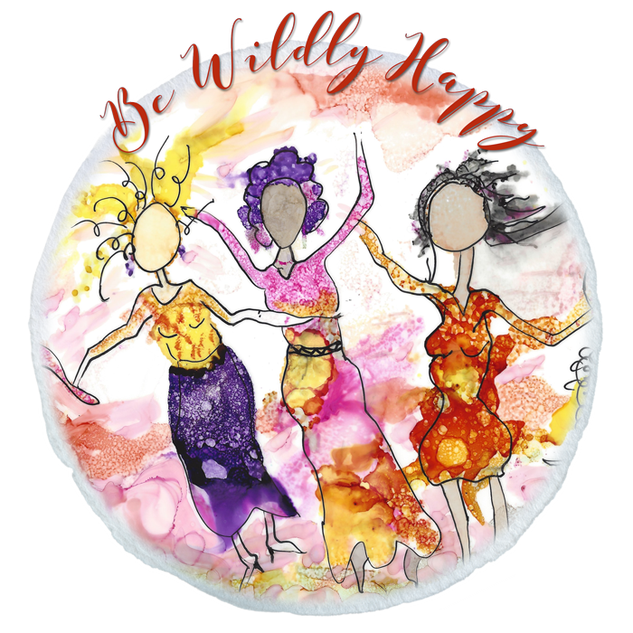 Be wildly happy charrise. Painter clipart painting class