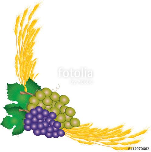 Grapes clipart bread. Eucharist symbols of and