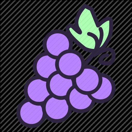 Violet x free clip. Grape clipart bunch grape