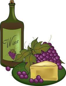 Grape clipart cheese. Clip art wine bottles