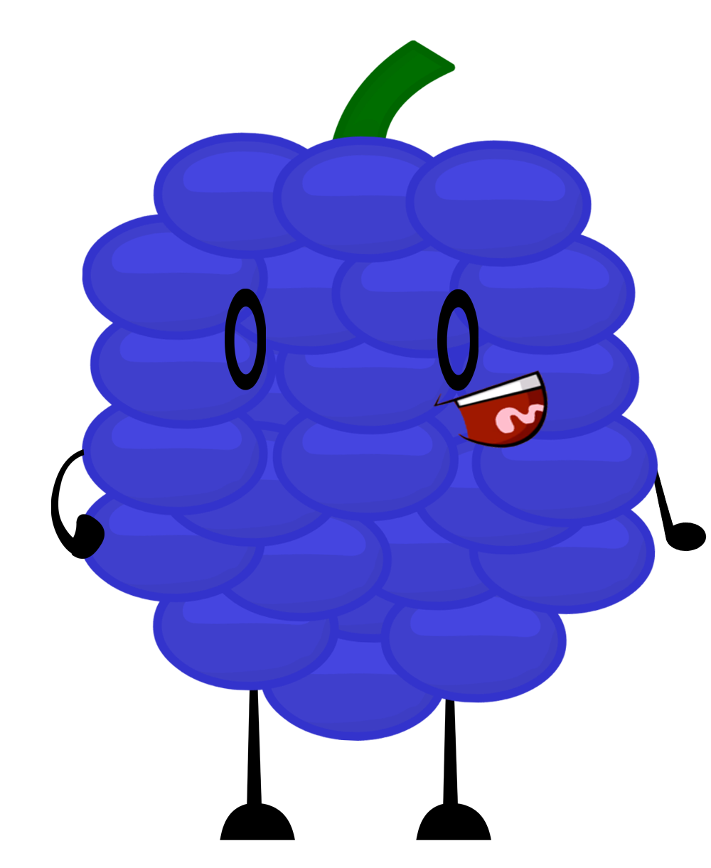 Grape clipart concord grape. Image fan made pose