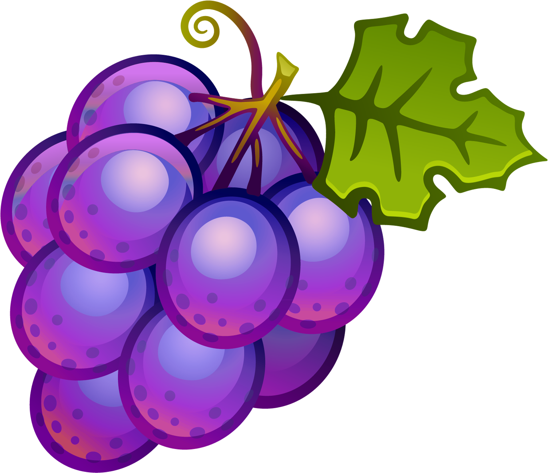 Grape clipart fruit individual. Grapes clip art png