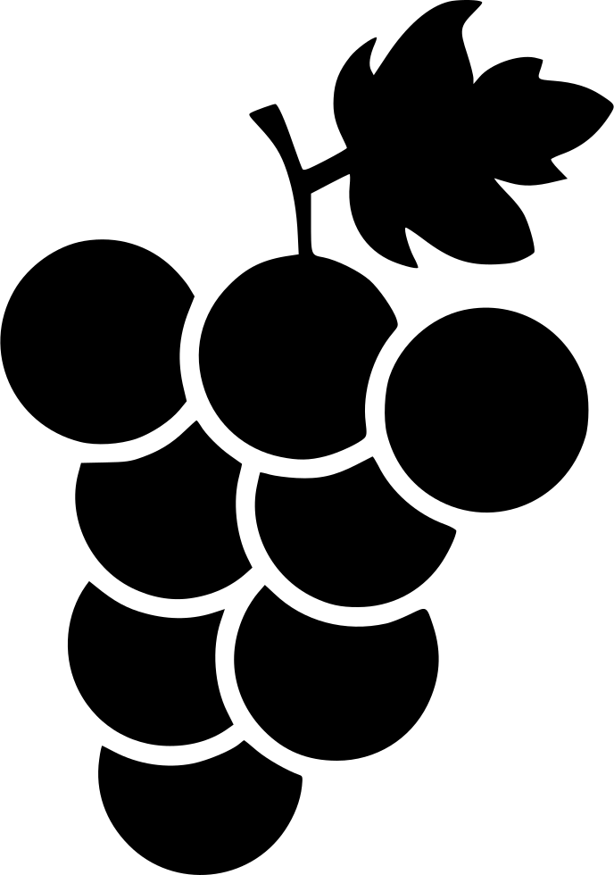 Healthy grapes fruits fresh. Grape clipart fruit individual
