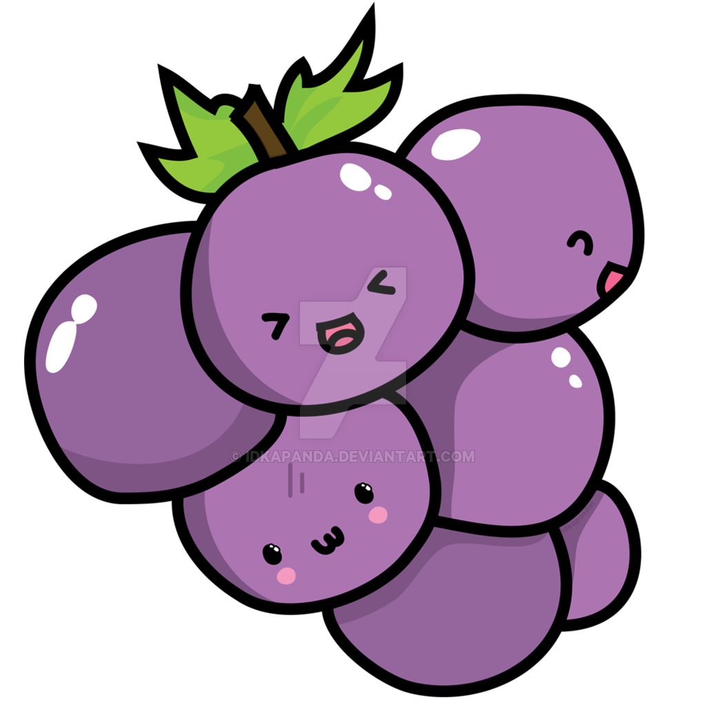 Grapes clipart illustration. Whatta grape family by