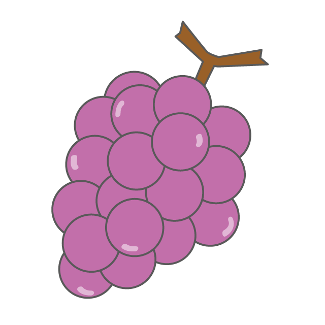 Free distribution site clip. Grape clipart illustration