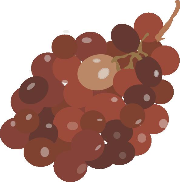 Grape clipart orenge. Red grapes clip art