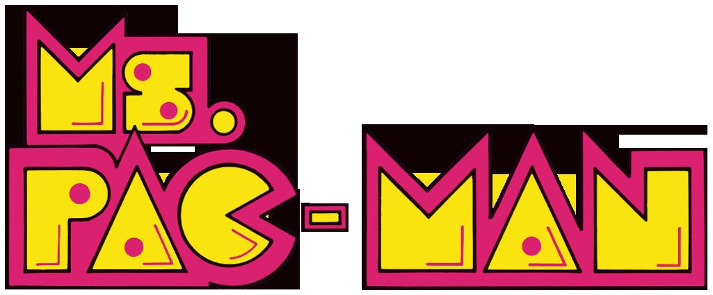 Grape clipart pacman fruit. Ms pac man logo
