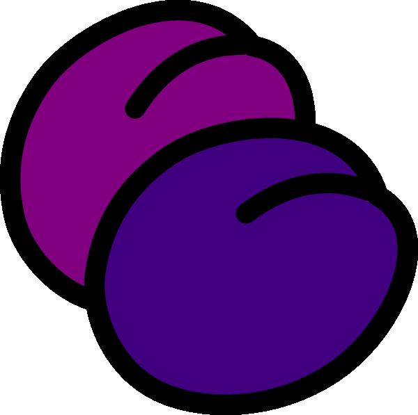 Clip art at clker. Grape clipart plum fruit