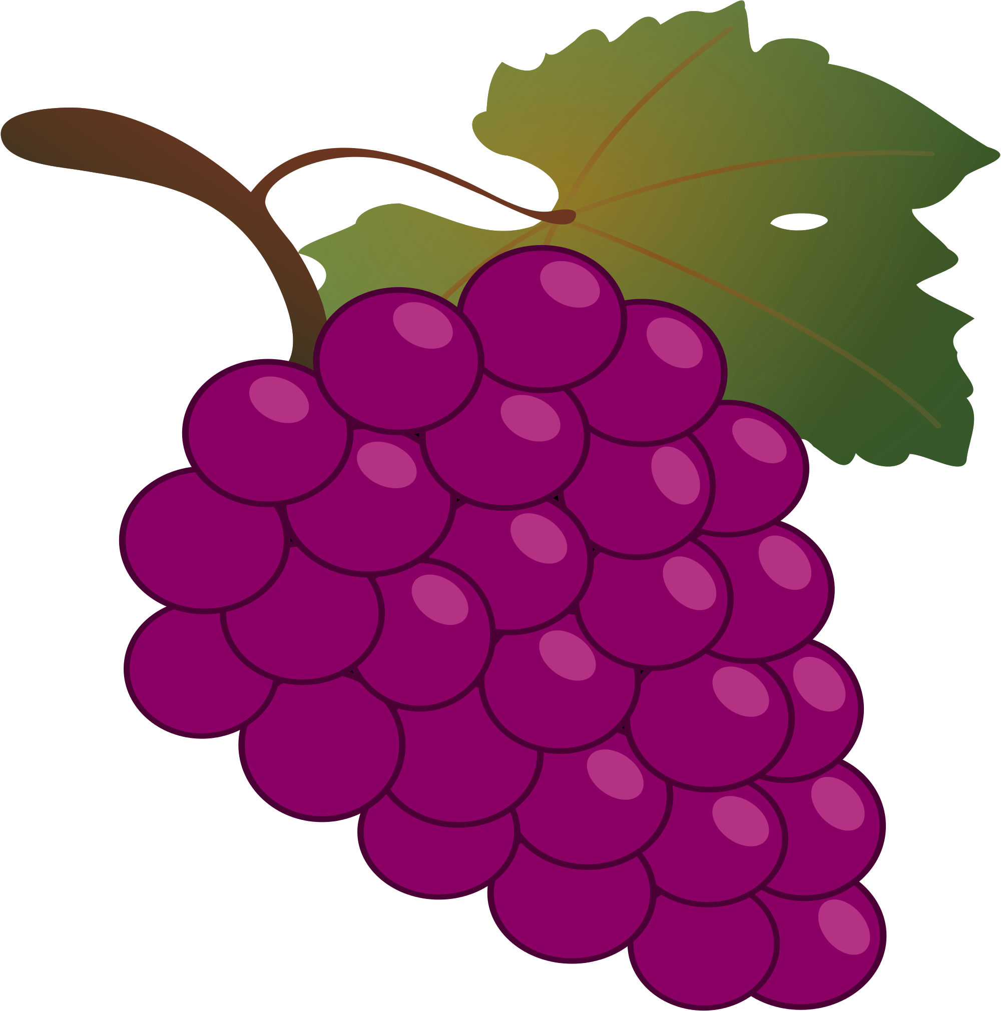 Grapes to free images. Grape clipart printable