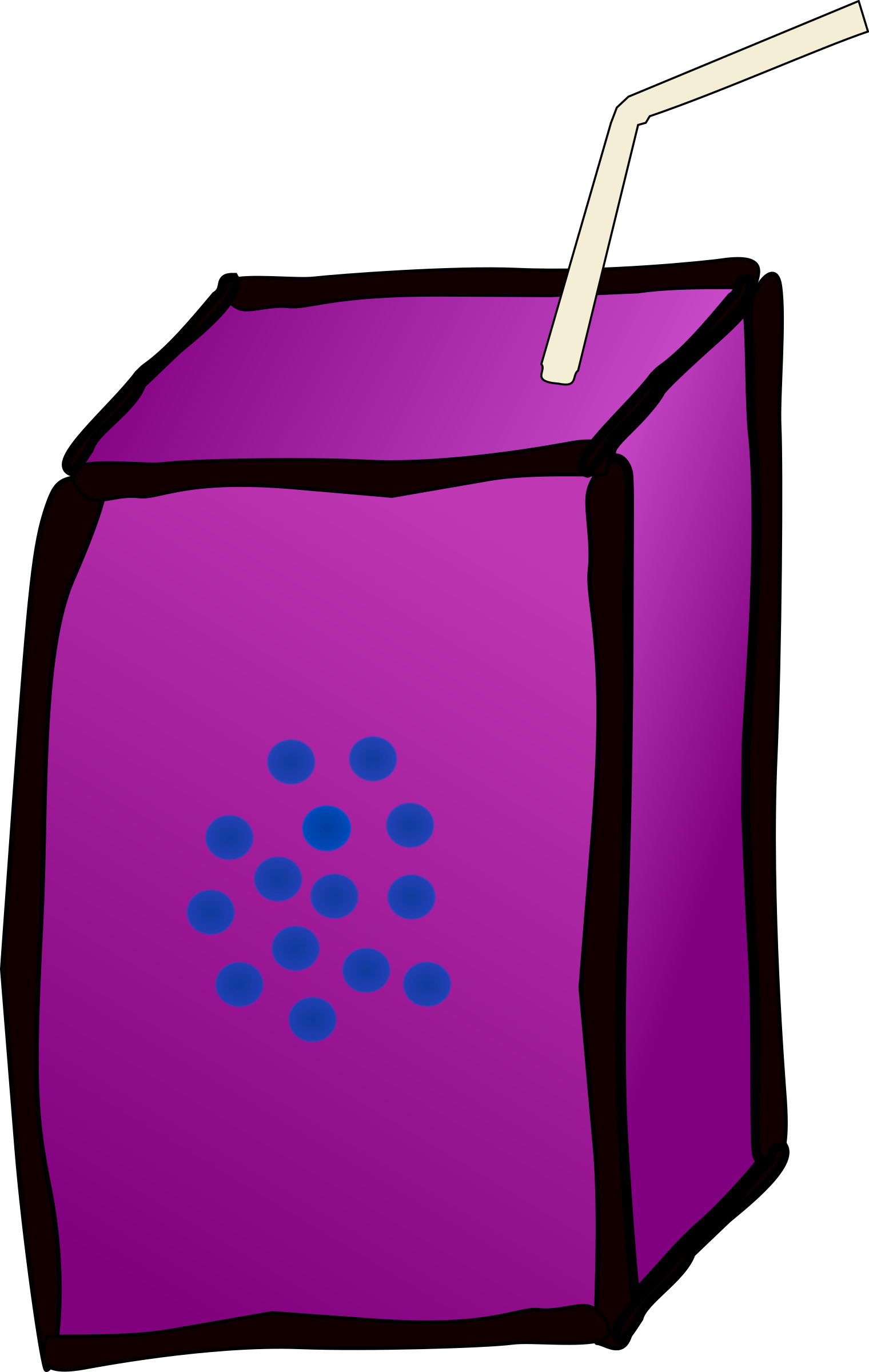 Juice box big image. Grapes clipart animation