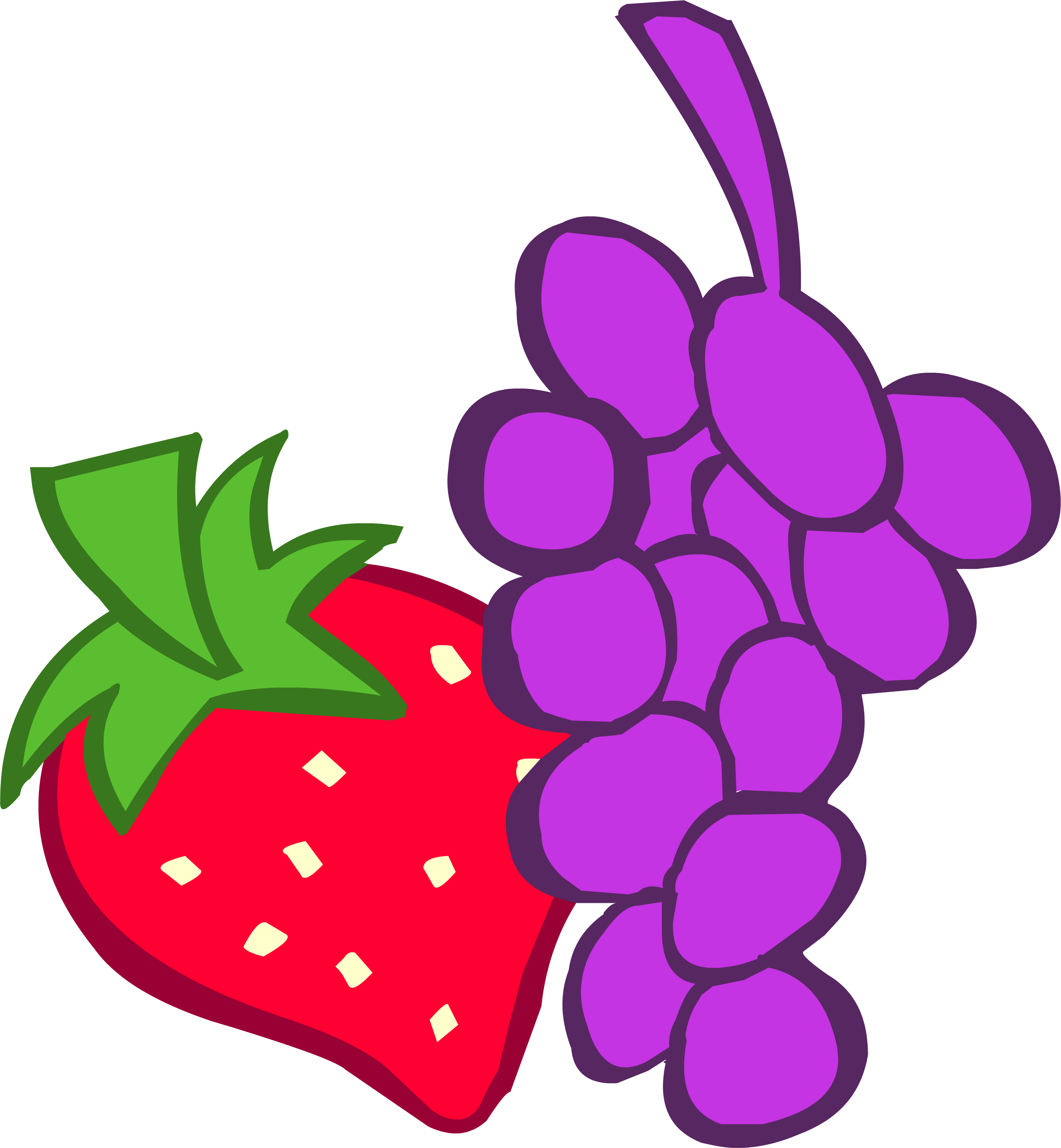 adventures in ponyville. Grapes clipart purple berry