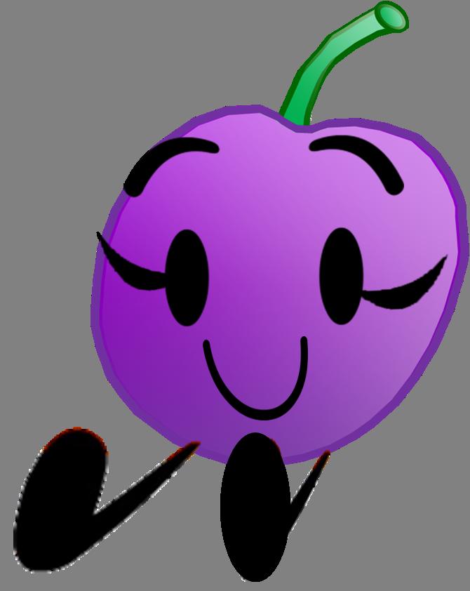 Grape super lifeless object. Grapes clipart violet