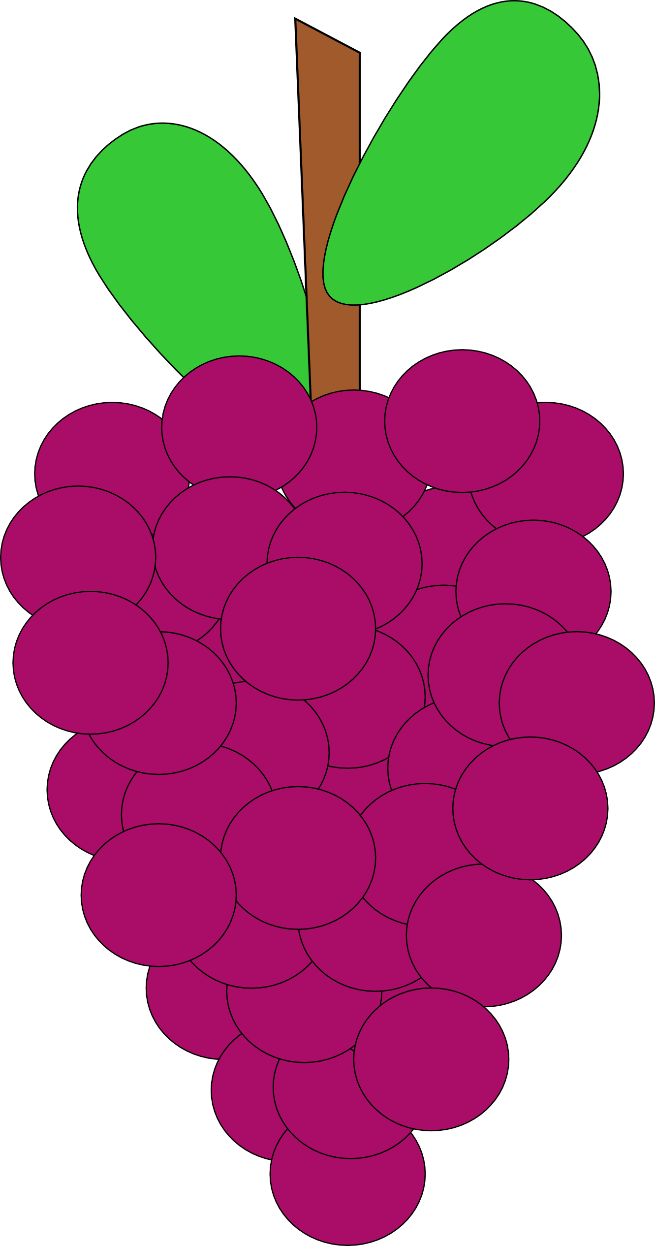 Grape clipart ubas. Vine pencil and in