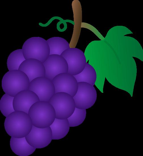 Grape clipart violet. Free purple grapes cliparts