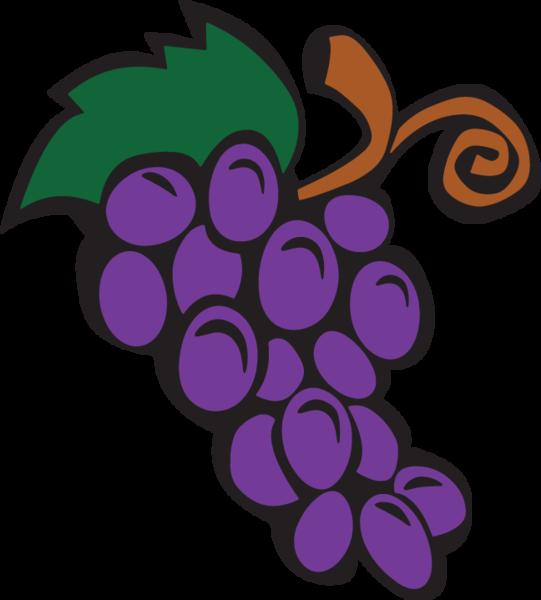 ga grapes rock. Grape clipart violet