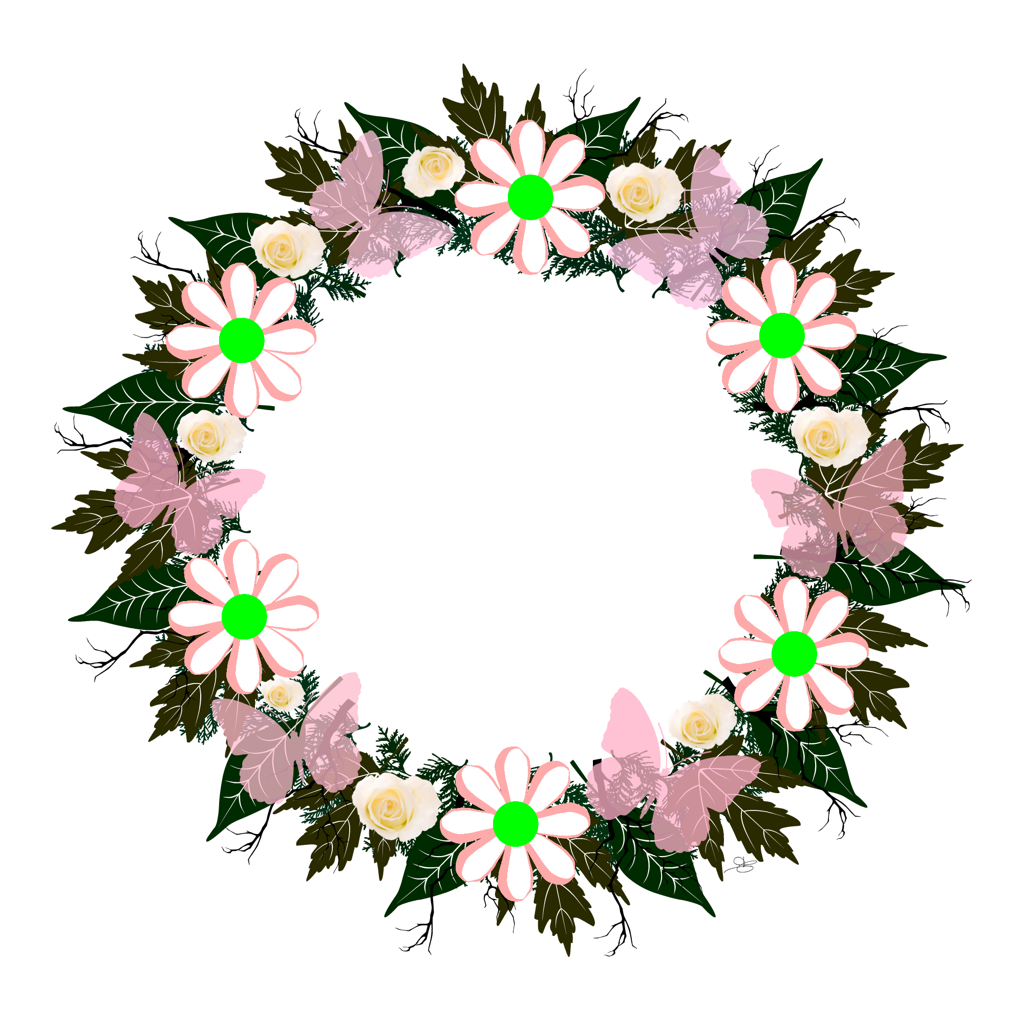 Grape clipart wreath. Butterflow collection collections pinterest