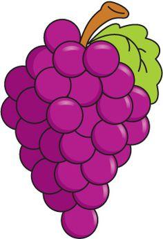 Free preschool pinterest clip. Grapes clipart