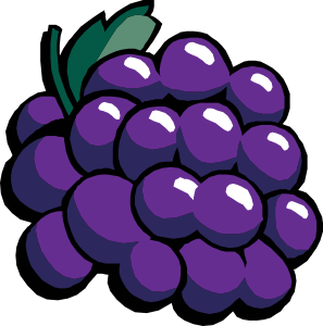 Panda free images grapesclipart. Grapes clipart