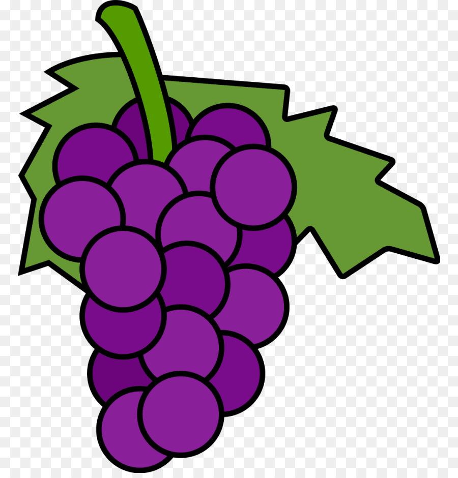 Common grape vine wine. Grapes clipart