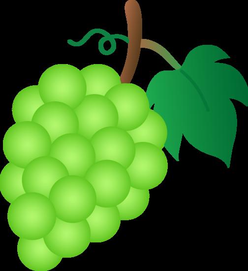 grape clipart friuts