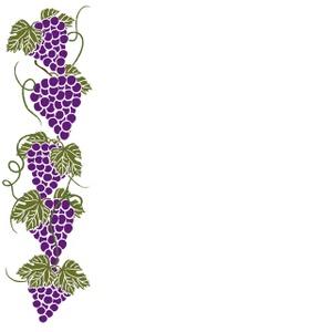 Grapes clipart border. Free grapevine cliparts download