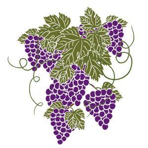 Grapevine clipart pattern. I heard it through
